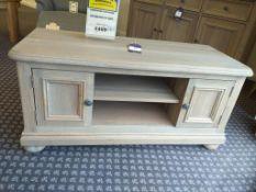Kensington oak range TV unit