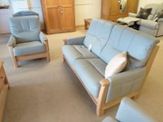 Recor Lincoln Large Sofa and Armchair