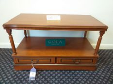 Gola Coffee Table with Drawers