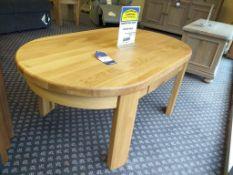 Sorento oak table