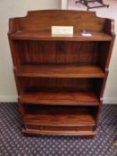 Ancient mariner waterfall bookcase