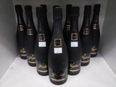 Ten bottles of Freixenet Cordon Negro Gran Selection Cava Brut
