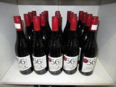 Twenty bottles of Nederburg '56 Hundred' 2017 Shiraz red wine