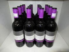Sixteen bottles of Oxford Landing Estates Cabernet Sauvignon Shiraz 2012 red wine