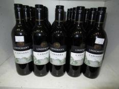 Twenty bottles of Lindeman's Cawarra Cabernet Merlot 2016 red wine