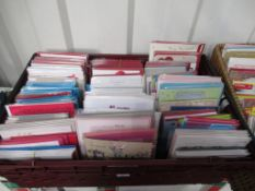 2 x trays to include a selection of cards