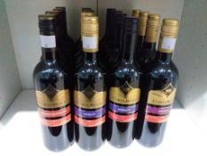 Sixteen bottles of Corte Reale Red Wine