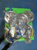 5 x Water Hose Reels