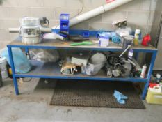Bench & Contents including Valves & Cepi Diverters