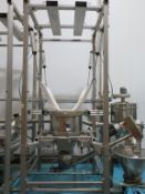 Framed Mounted Sifter with Bulk Bag Unloading System
