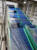 High Level Conveyor Lines ltd Acrylic Slat Belt Conveyor System