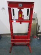 Manual 30ton Hydraulic Garage Press