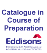 Catalogue in Course of Preparation