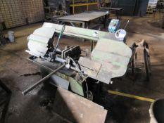 Jaesper horizontal Band saw, capacity 250 x 250 jaw
