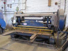 Rhodes Shear 2440 x 6m/m cut, Twin Fly Wheel (Requ