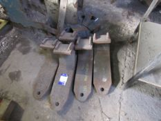 5 Heavy Duty Plate Lifting Hooks