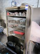 Steel Cabinet including Quantity Punch Tooling