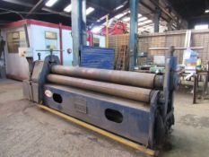 "Keetona Powered Bending Rolls 2550mm, 8""x3/8"" Mild Steel"