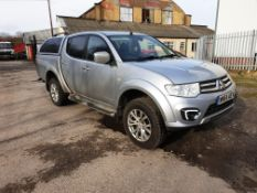 Mitsubishi L200 Barbarian LB DCB DI-D 4X4 Pick Up, registration WN64 AEV, first registered 1 October