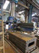 Asquith Radial Arm Drill, 8ft, 25474, Serial Number OD2 468.5.58 with Machine Block 2000x1700x600 (a