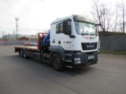 Man TGS 26.400 6x2-2BL Hiab Lorry