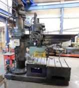 Asquith Radial Arm Drill Serial Number 7393 & Two