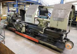 DSG Type 30 Gap Bed Centre Lathe Serial Number 412