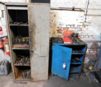 Steel Cabinets & Contents of Tooling