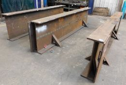 Steel Fabrication Heavy Duty Stands (x3) 13ft x 3f