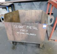 3 Scrap Bins including Contents