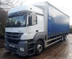 Recycling Plant & Mercedes Axor Curtainside Wagon (2011) - Wrapp Recycling Limited (In Administration)