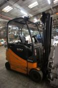 Still RX60-20 Forklift, Electric (attachment not included, no forks) Serial Number 516315009124, Yea