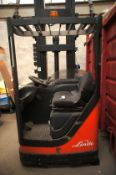 Linde A10 Electric Aisle Truck Serial Number G1X04