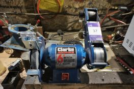 Clarke Metalworker CBGSB 6in Bench Grinder with Sa