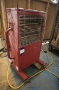 Mobile Halogen Heater 3000w, 110v