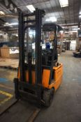 Still R50-15 Forklift, Electric Serial Number 515044020556, Year of Manufacture 2012, Asset No. 556