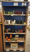 Quantity of Colour Thread to Cabinet & 4 Drawer Fi