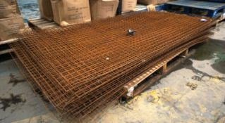 Quantity of 50mm Mesh to Pallet