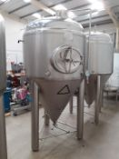 Kumbo 1200l Stainless Steel Beer Tank/conical FV