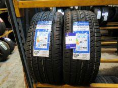 2 x Windforce 245/45x18 Tyres