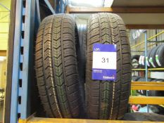 2 x Starco 145/10x1 Load Tyres