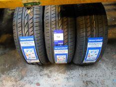 3 x Windforce 215/55x16 Tyres