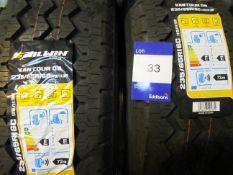 2 x Sailwin 235/65/16 8 PR Tyres