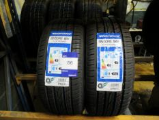 2 x Windforce 195/50x15 Tyres