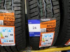 3 x Tracmax 195/65x15 8 PR Tyres
