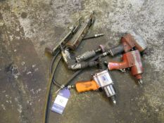 Various Pneumatic Tools including Impact Drivers, and Tyre Inflators etc.