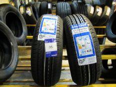 2 x Windforce 175/65x14 Tyres