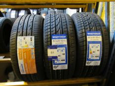 2 x Windforce 215/50x17 Tyres and 1 x Goldway 215/