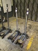 2 Omega 3 Tonne Trolley Jacks