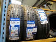 3 x Windforce 185/65x15 Tyres